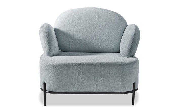 Кресло Coco серо-голубого цвета