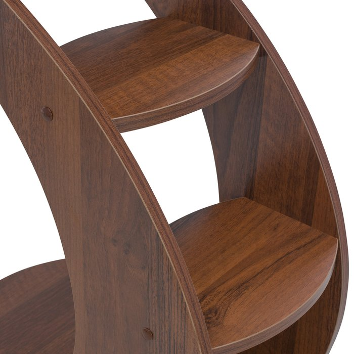 Приставной столик Стелс цвета орех