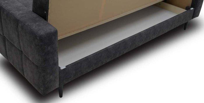 Диван-кровать Виконт серого цвета