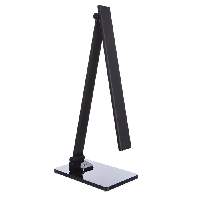 Настольная лампа черного цвета