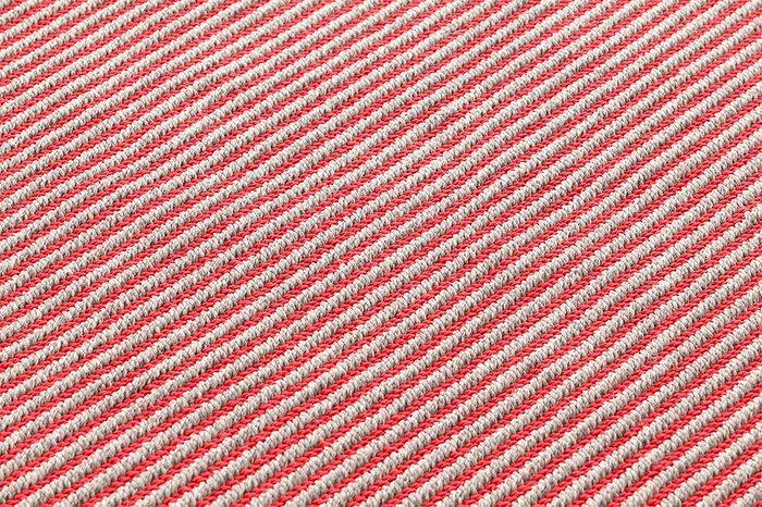 Большая подушка-рол Diagonal almond-red красного цвета