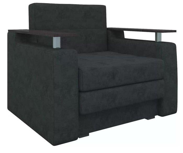 Кресло-кровать Мираж черного цвета