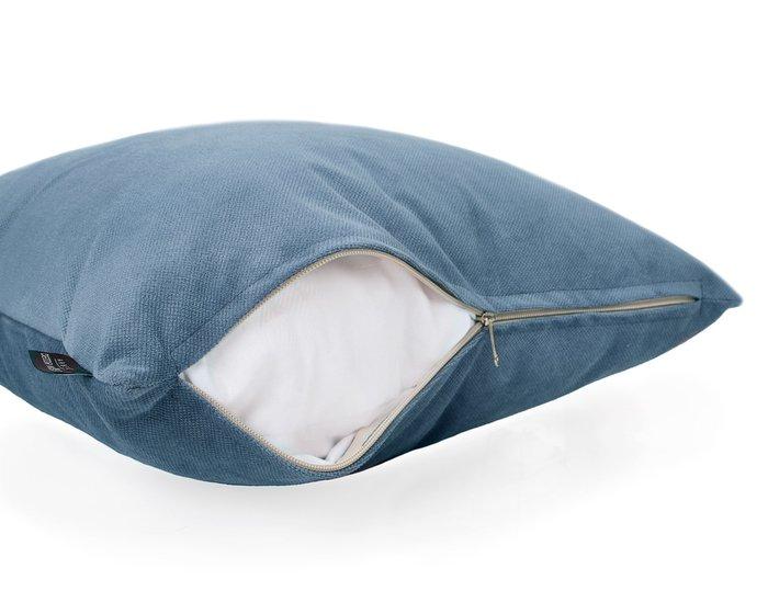 Декоративная подушка Amigo Blue синего цвета