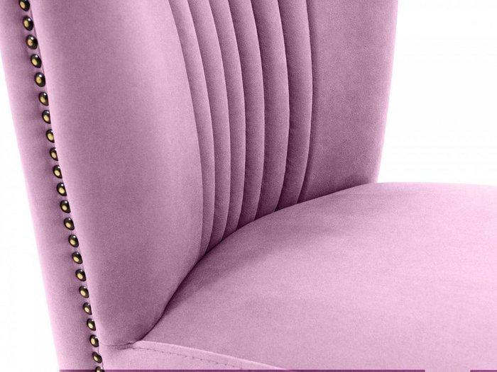 Кресло Barbara лилового цвета