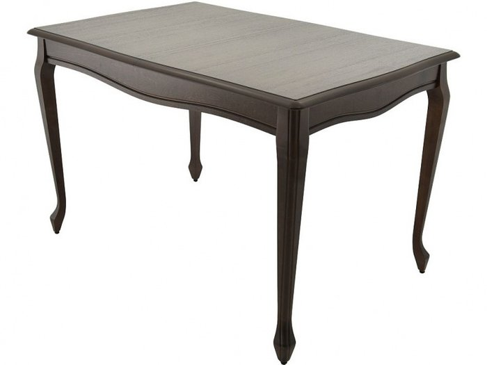 Стол раздвижной Кабриоль темно-коричневого цвета