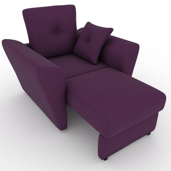 Кресло-кровать Neapol фиолетового цвета