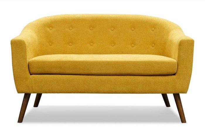 Прямой диван Florence M желтого цвета