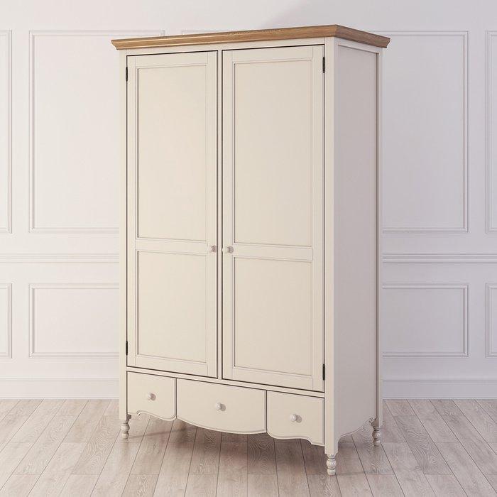 Шкаф двухстворчатый Leblanc бежевого цвета
