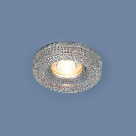 Встраиваемый светильник из стекла прозрачный