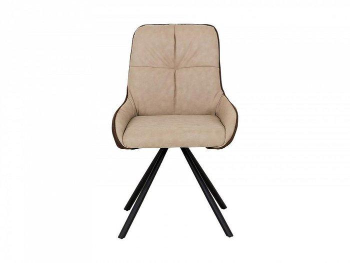 Кресло Neo бежево-коричневого цвета