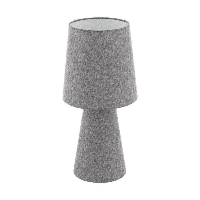 Настольная лампа Carpara серого цвета