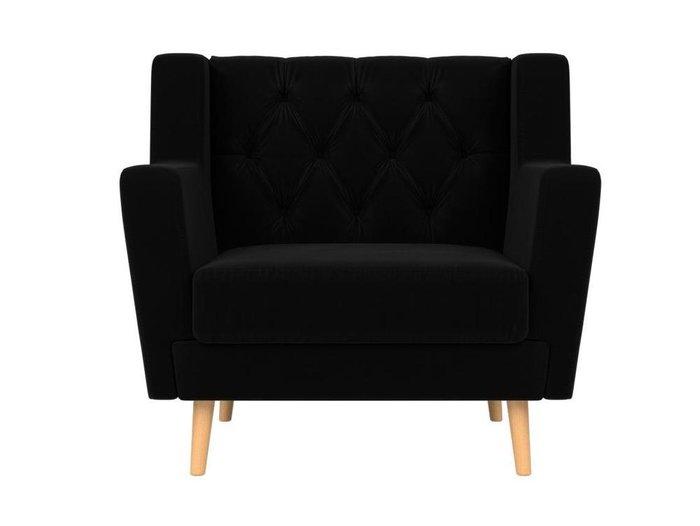 Кресло Брайтон Люкс черного цвета