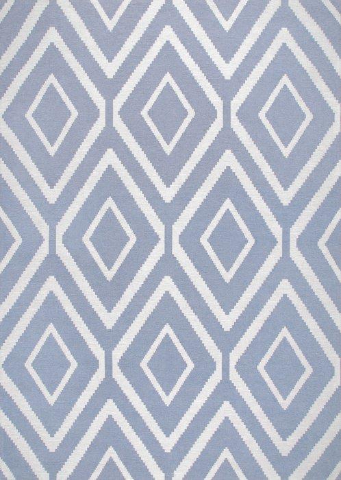Ковер Elza Lahti голубого цвета 135х200