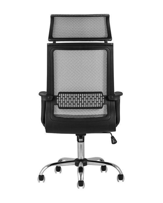 Кресло офисное Top Chairs Style серого цввета