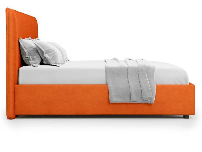 Кровать Brachano 180х200 оранжевого цвета