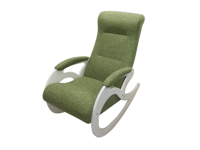 Кресло-качалка Венера зеленого цвета