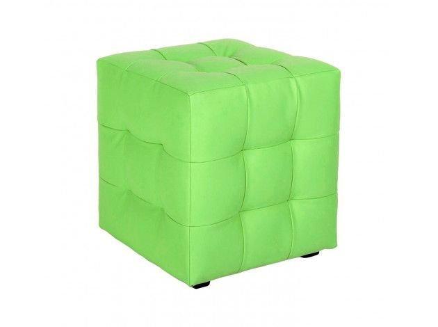 Пуф Loft зеленого цвета