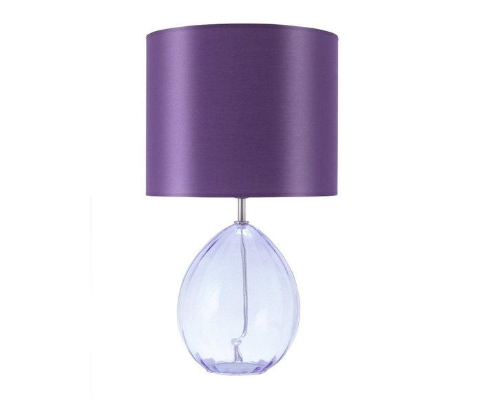 Настольная лампа сиреневого цвета