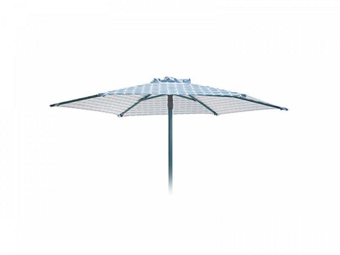 Разборный пляжный зонт Breeze голубого цвета
