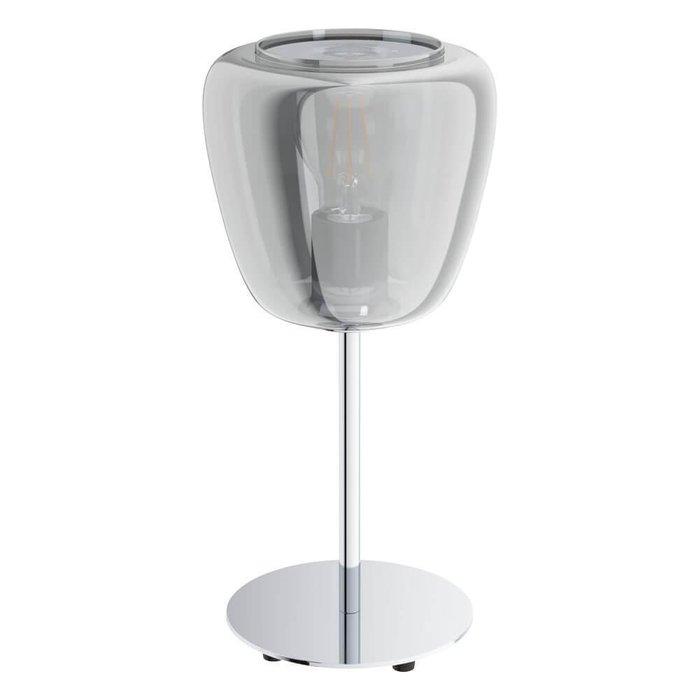 Настольная лампа Albarino с дымчатым плафоном