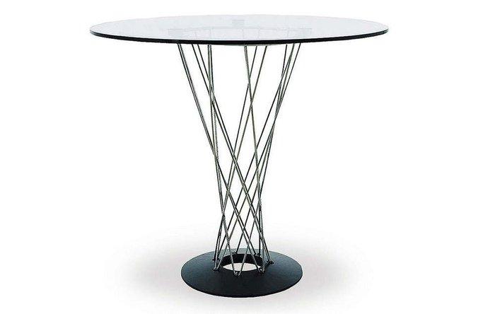 Стол Cyclone со стеклянной столешницей