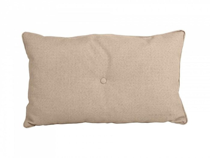 Декоративная подушка Pretty бежевого цвета