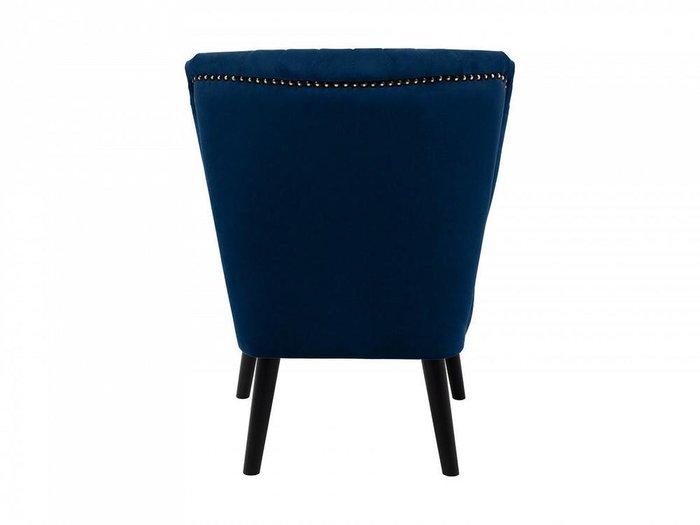 Кресло Barbara темно-синего цвета