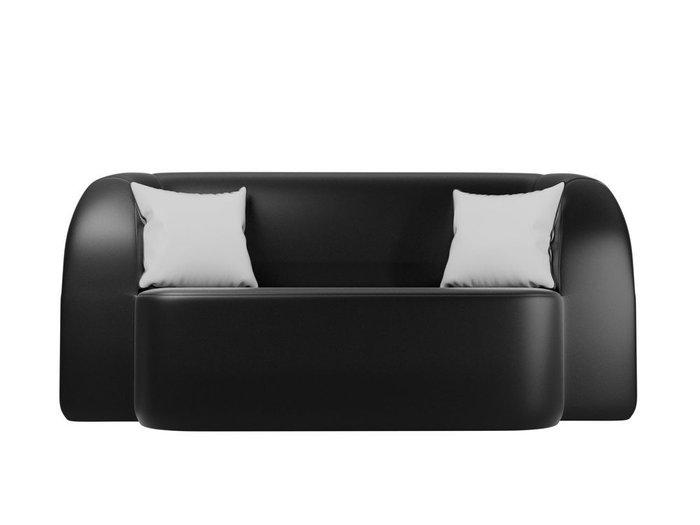 Диван-кровать Томас черного цвета (экокожа)