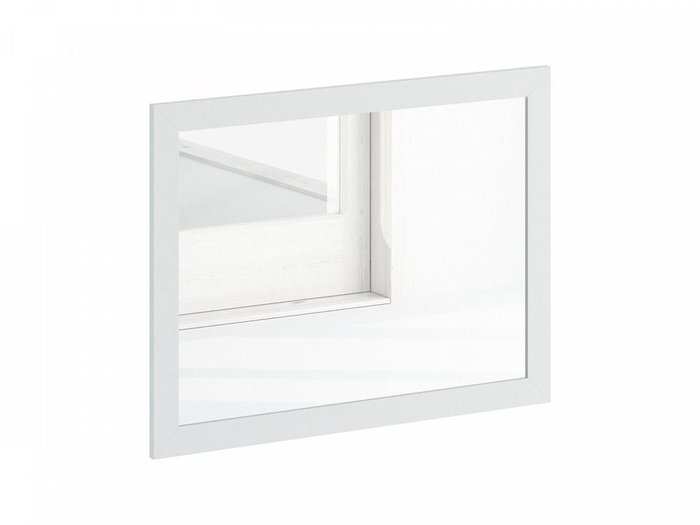 Зеркало настенное Caprio белого цвета