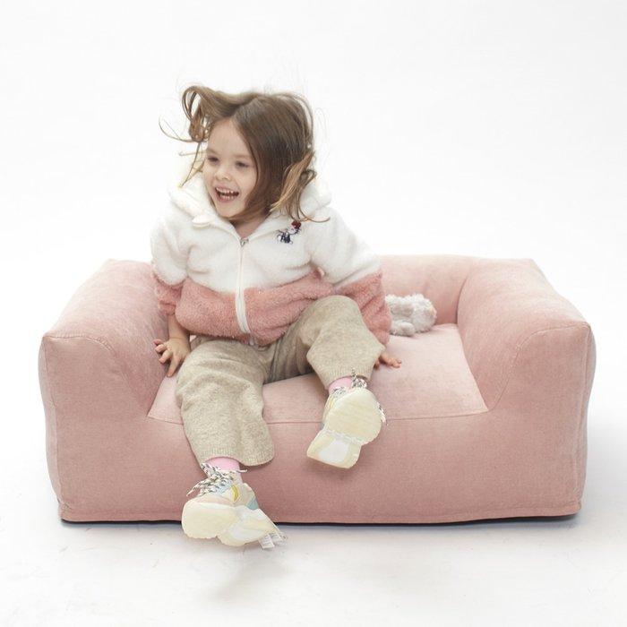 Детский бескаркасный диван Cloud розового цвета