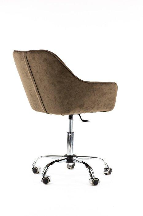 Стул Estet wheel коричневого цвета