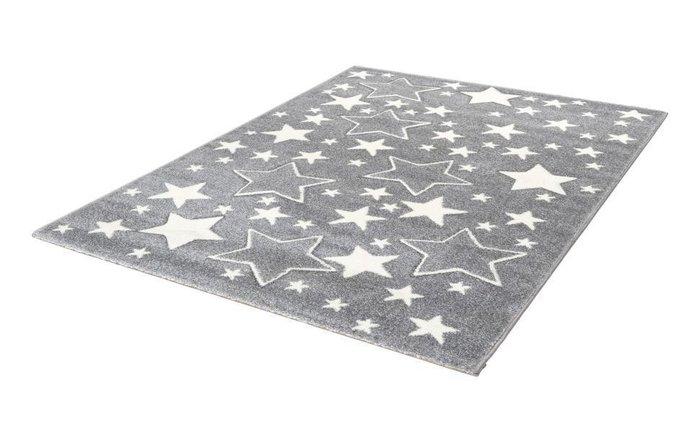 Детский ковер Amigo Stars Silver серого цвета 120х170