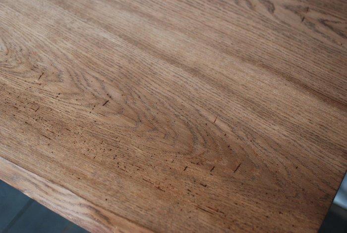 Рабочий стол Design Work Slab из металла и дерева