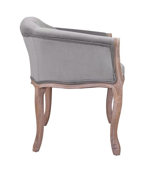 Диван Kandy double grey velvet серого цвета