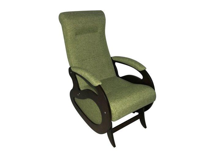 Кресло-качалка Маятник зеленого цвета