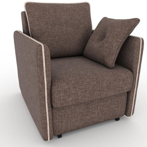 Кресло-кровать Cardinal коричневого цвета