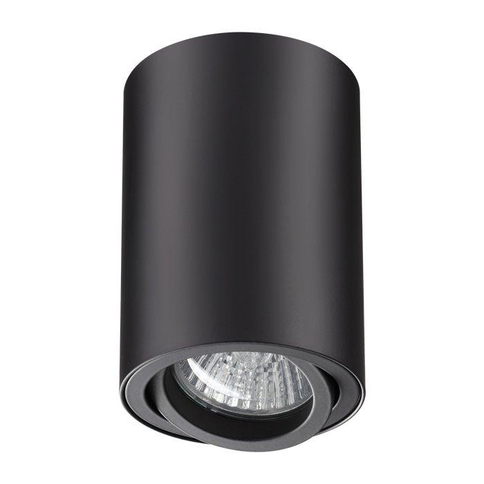 Потолочный светильник Pipe черного цвета