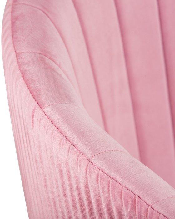 Стул обеденный Mary розового цвета