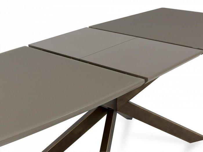 Стол обеденный Fobos серо-коричневого цвета
