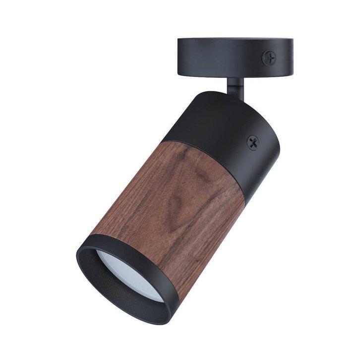 Потолочный точечный светильник Vector Unit из американского ореха