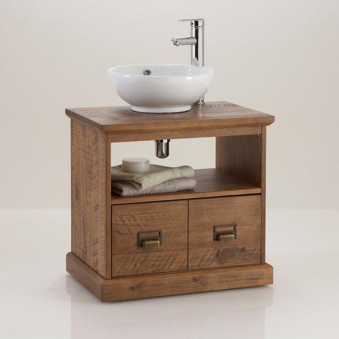 Тумба для ванной Lindley с двумя ящиками