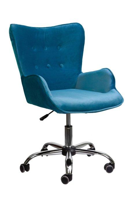 Кресло поворотное Bella бежевого цвета