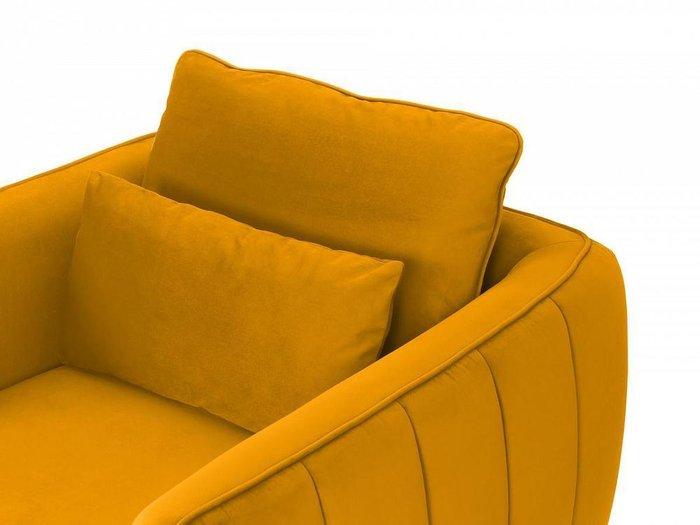 Кресло Amsterdam горчичного цвета