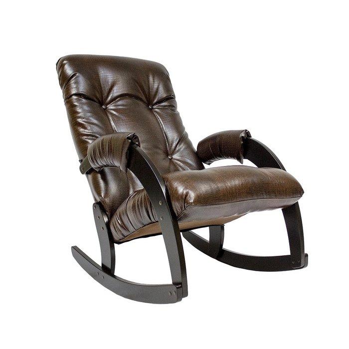 Кресло-качалка Модель 67 цвета Antik crocodile