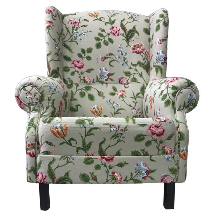 Кресло Розарий светло-серого цвета