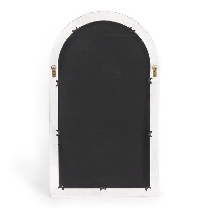 Настенное зеркало Aulon белого цвета
