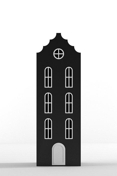 Шкаф-домик Бремен Medium черного цвета