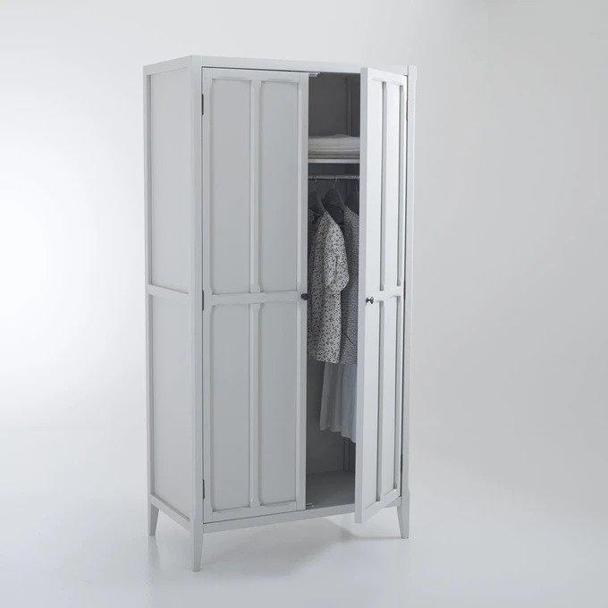 Шкаф Eugnie светло-серого цвета