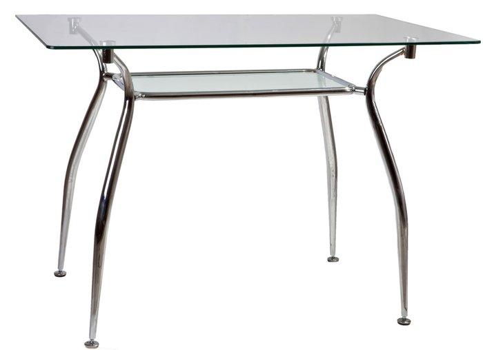 Обеденный стол Patrizia со стеклянной столешницей