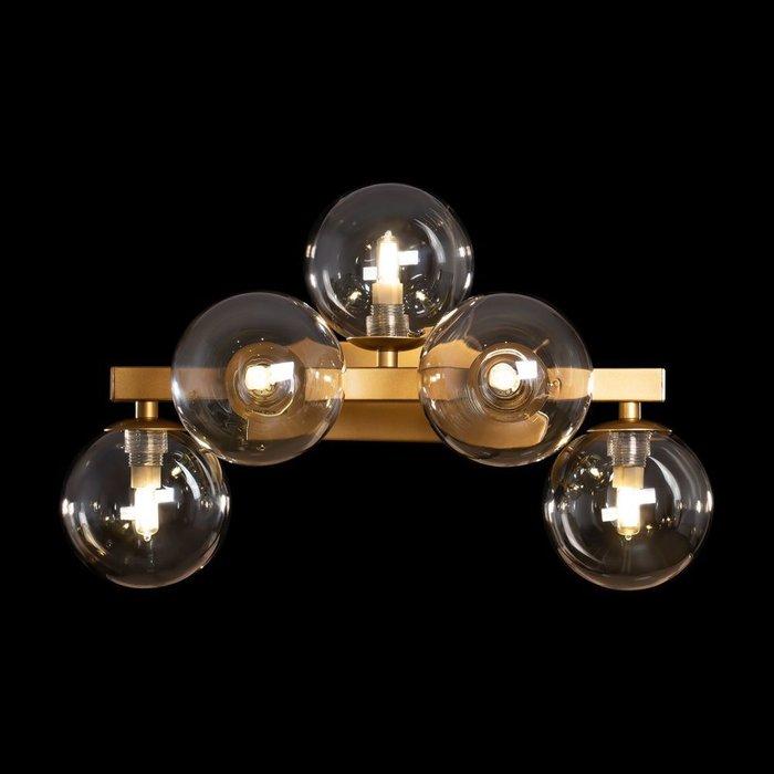 Бра настенное Dallas S цвета матового золота